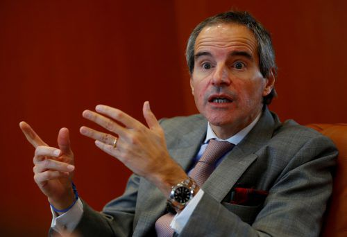 Rafael Grossi, Direktor der Internationalen Atomenergiebehörde (IAEA).RTS