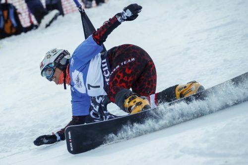 Routiniert und nicht zu bremsen: Claudia Riegler bleibt dem Snowboardsport treu.gepa