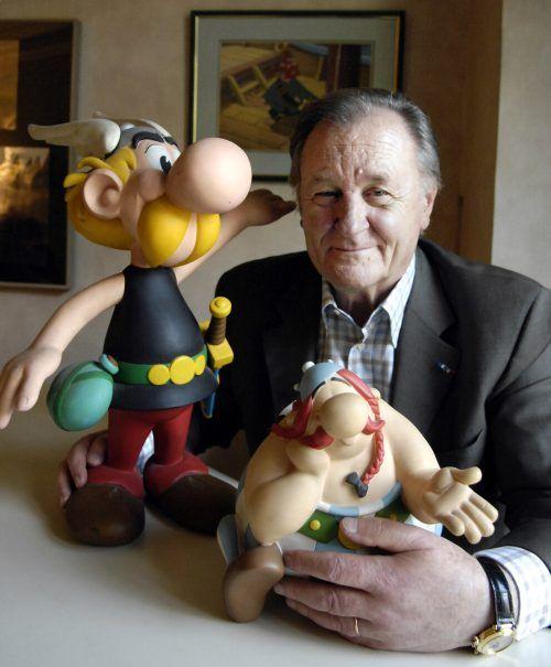 Seit Albert Uderzo das erste Album der Abenteuer von Asterix und Obelix veröffentlichte, wurden weltweit Millionen Exemplare verkauft.AFP, VN, Rainer