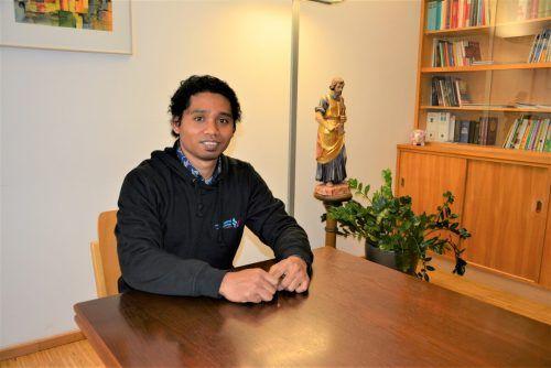 Seit Sommer 2019 wirkt der Steyler Missionar als Kaplan in Dornbirn. eh