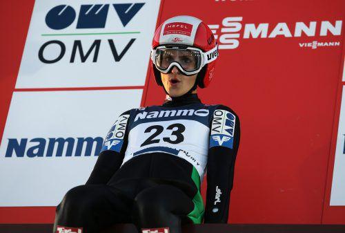 Sitzenbleiben und Warten lautete die Devise für Eva Pinkelnig und die ÖSV-Adler. Aufgrund von schlechten Wetterbedingungen am Holmenkollen kam es zu Verschiebungen.Gepa