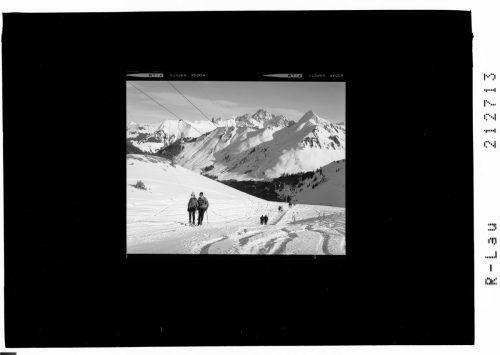 So sah es im Skigebiet vor rund 60 Jahren aus.