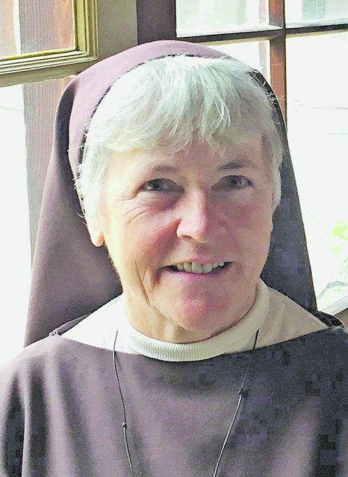 Sr. Maria Kriegner, Schwester zur Hl. Klara.