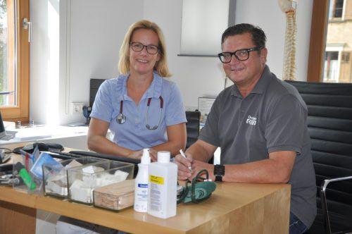 Susanne Linder und Karlheinz Grotti werden in Meiningen eine Gemeinschaftspraxis eröffnen. welte
