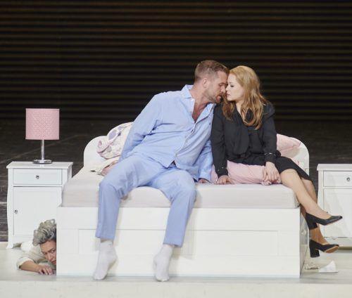 """Szene aus der Oper """"Le nozze di Figaro"""" in Stuttgart. Oper/Sigmund"""