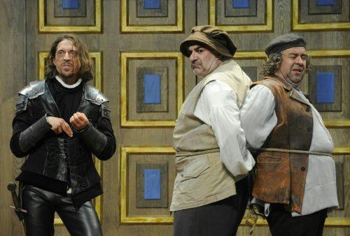"""Szene aus """"Die unglaubliche Tragödie von Richard III."""" APA"""