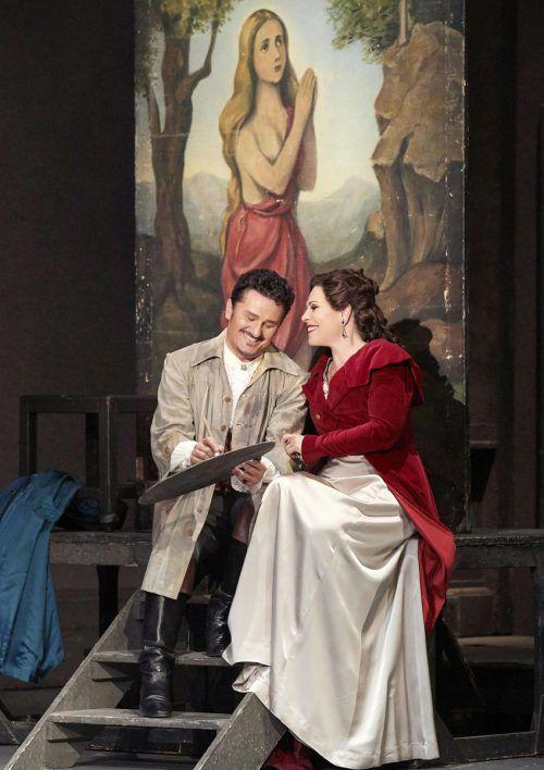 "Szene aus Puccinis Oper ""Tosca"" der Wiener Staatsoper. ApA/pöhn"