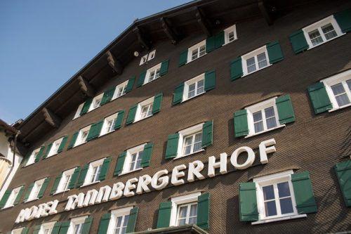 Tannbergerhof im Zentrum von Lech.