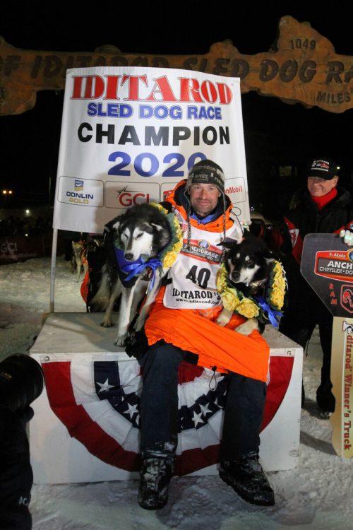 Thomas Wærner hat das Iditarod-Rennen Mitte März gewonnen. Reuters