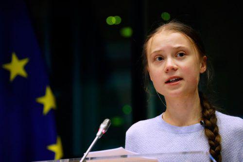 Thunberg hat von der EU sofortiges Handeln gegen die globale Erwärmung verlangt.
