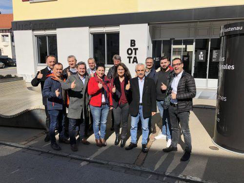 Türkischstämmige Wahlwerber der ÖVP tauschten sich in Lustenau aus. VN/Hämmerle