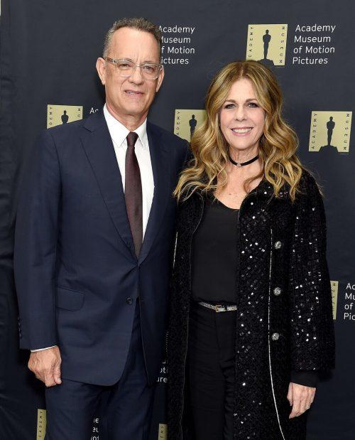 US-Schauspieler Tom Hanks und seine Ehefrau Rita Wilson. AFP