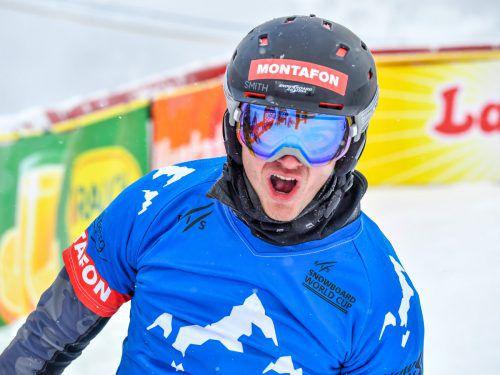 Snowboard-Ass Alessandro Hämmerle blickt bereits auf die Olympischen Spiele 2022 in Peking und träumt auch von einer Medaille.gepa