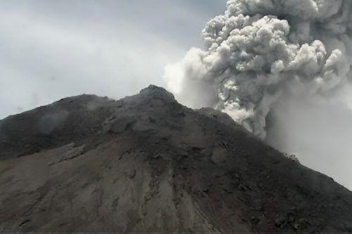 Vulkan Merapi ist das zweite Mal binnen eines Monats ausgebrochen. AFP
