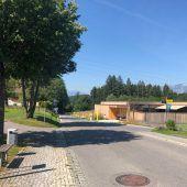 Feldkircher Straße für acht Tage gesperrt