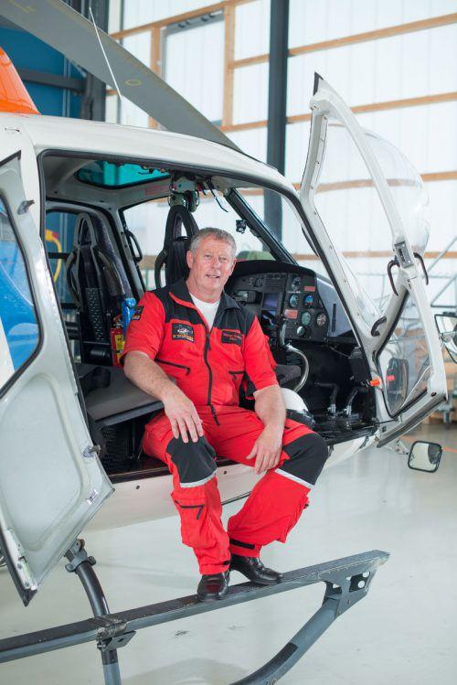 Walter Seifert führte das spektakuläre Flugmanöver aus. Er zählt zu den erfahrensten Piloten Österreichs.