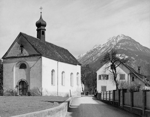 Welsches Kirchle - ehemalige Friedhofskapelle St. Jakob.