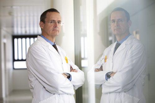 Primar Offner ist seit 20 Jahren Vorstand des Instituts für Pathologie. KhBG