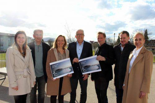 Wirtschafts- und Tourismusausschuss, Vertreter von Gastronomie und Hotellerie sowie die Agentur Atypisch sorgen für den neuen Markenauftritt. bms