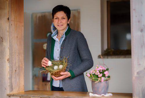 Wurde von den Bäuerinnen im Land zu ihrer Vertreterin gewählt: Andrea Schwarzmann.VN/Stiplovsek