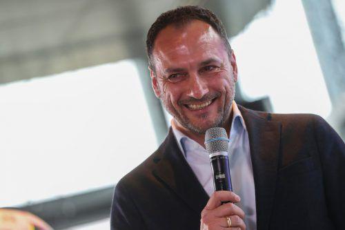 Zieht ein positives Resümee nach dem Grunddurchgang, sieht sich aber noch nicht am Ziel: SCRA-Sportchef Christian Möckel.gepa