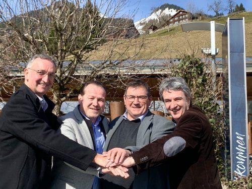 Zwei der vier Bürgermeister treten bei den Wahlen am Sonntag nicht mehr an – das Quartett kann aber auf eine Vielzahl erfolgreicher Projekte zurückblicken.