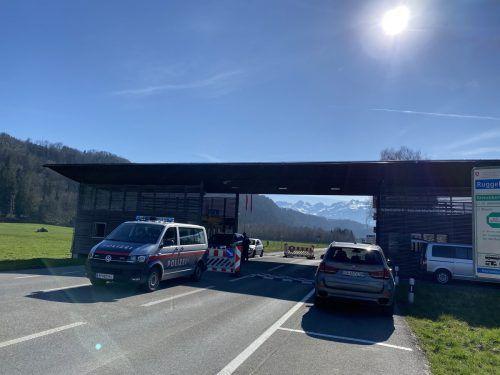 Zwischen 20 Uhr und fünf Uhr früh ist kein Grenzübertritt in Nofels und Mäder mehr möglich.