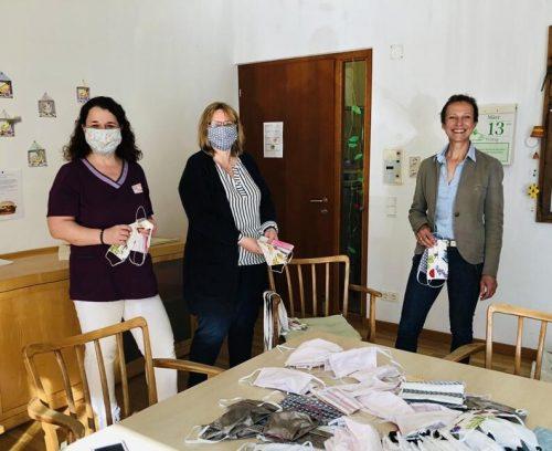 200 selbst genähte Masken gab es für den KPV Tosters und den MoHi Feldkirch. KPV