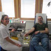 Blutspendeaktion in Schoppernau