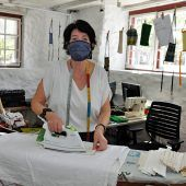 Reparaturcafé wurde zur Maskenschneiderei