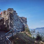 Verhaltensregeln auf dem Schlossberg