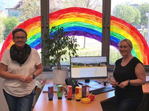 Auf Initiative von Sandra Ebenhoch und Daniela Tiefenthaler hat die Gemeinde Frastanz einen Online-Kindergarten eingerichtet. gemeinde