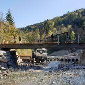 Notbrücke  auch für schwere Lasten