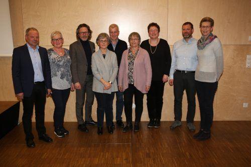 Bei der Generalversammlung des Krankenpflegevereins Altenstadt Anfang März wurde auch der Vorstand neu gewählt. KPV Altenstadt