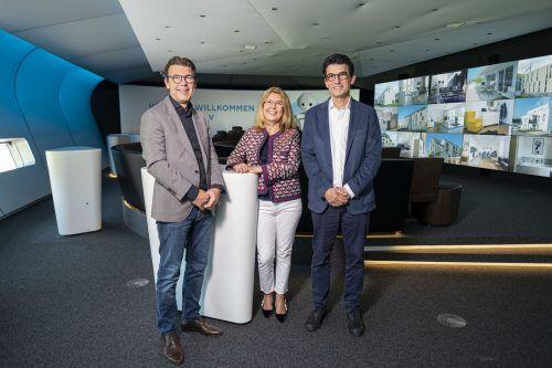 Christian, Graziella und Wilfried Hefel stehen seit 1993 an der Spitze des Familienunternehmens mit 150 Mitarbeitern. hefel