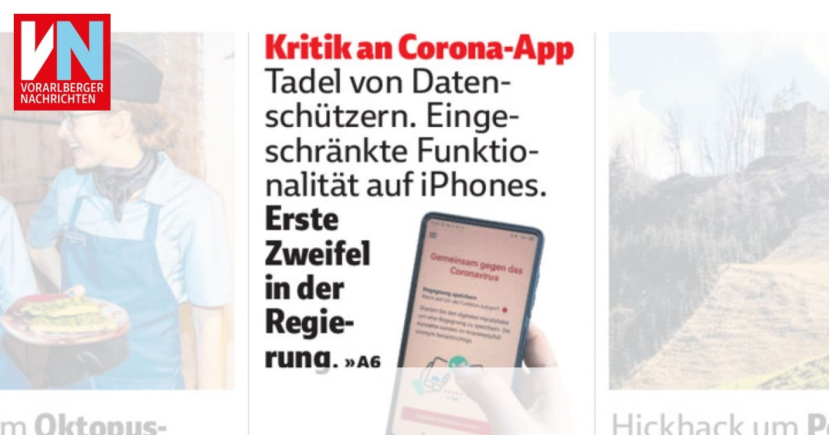 Corona App Kritik