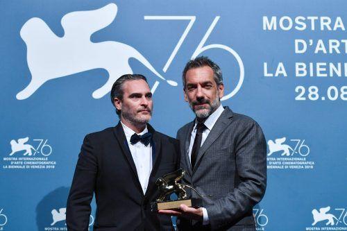 """Der Goldene Löwe für den besten Film ging 2019 an den Psychothriller """"Joker"""". AFP"""