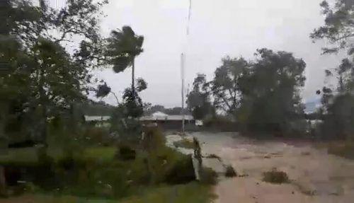 """Der Wirbelsturm """"Harold"""" verwüstete auch Luganville. Adra Vanuatu via REUTERS"""