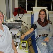 Blutspendeaktion in Bartholomäberg