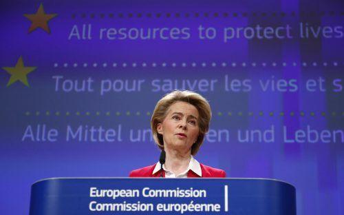 Die EU-Staaten folgten einem Vorschlag von Kommissionschefin von der Leyen.