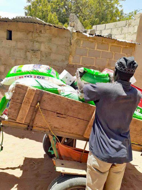 Die Lebensmittelversorgung hat höchste Priorität.