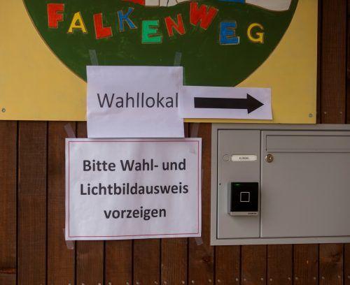 Die Mehrheit der Parteien befürwortet Wahltermin im September. VN/Paulitsch