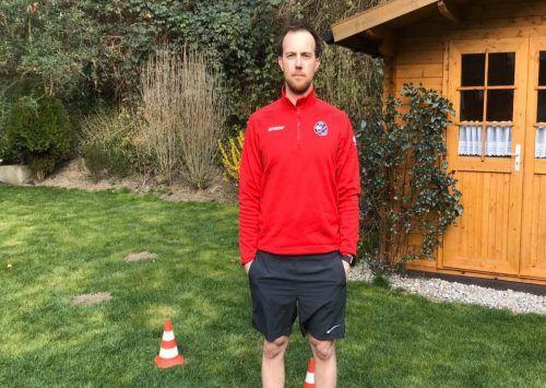 Die Nachwuchsspieler erhalten von ihren Coaches regelmäßig Trainingsvideos. VEU Feldkirch