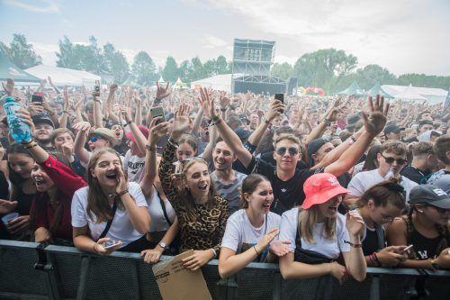 Die Planungen für das nächste Szene Openair haben bereits begonnen. Nächstes Jahr sollen wieder Tausende Festivalfans am Alten Rhein begrüßt werden.VN/Steurer