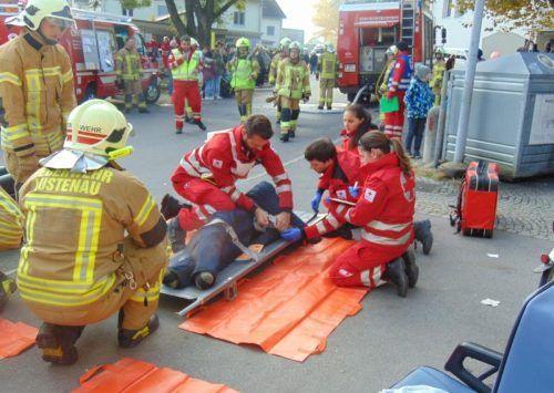 Die Rettung Lustenau wurde 2019 zu 7033 Notfall- und Sanitätseinsätzen gerufen und hatte auch bei Schulung ausn Ausbildung viel zu tun. mima