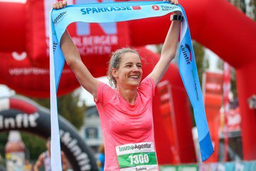 Die Schweizerin Sabine Hauswirth war 2019 in knapp 39 Minuten die schnellste über die Viertelmarathon-Distanz.steurer