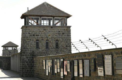 Ehemaliges KZ Mauthausen. APA