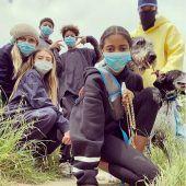 Heidi Klum zeigt seltenes Foto ihrer Kinder