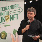 Bürgermeister in Lustenau mit Kritik an Bundesliga. C1