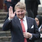 Niederländer mit ihrem König zufrieden